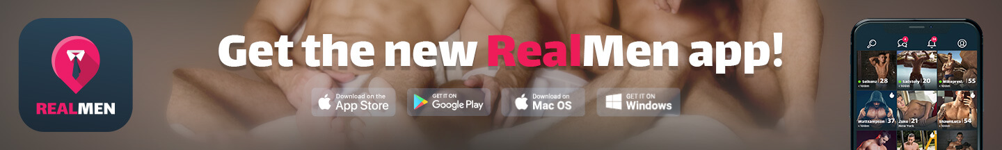 The RealMen app & messenger